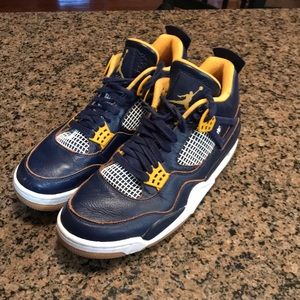 Jordan 4 dunk from above size 9.5 308497-425